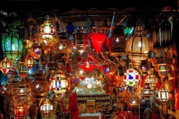 L mparas arabes decoraci n y artesan a rabe - Artesania y decoracion ...