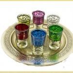 Teteras, vasos, azucareros, Bandejas Marroquís