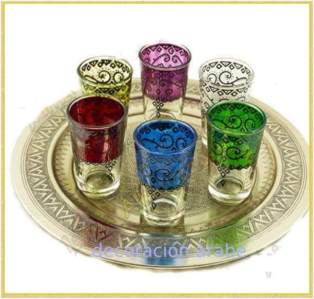 Teteras vasos azucareros bandejas marroqu s archivos for Vasos de te