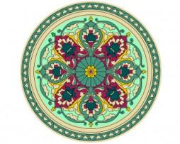 Mandala de geometría sagrada Islámica 3