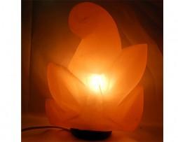 Lámpara de sal de los Himalayas en forma de flor