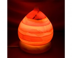 Lámpara de onix, domo