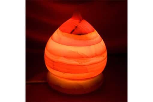 L mpara de onix en forma de domo decoraci n y artesan a - Artesania y decoracion ...