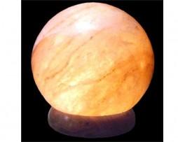 Lámpara de sal de los Himalayas en forma de esfera