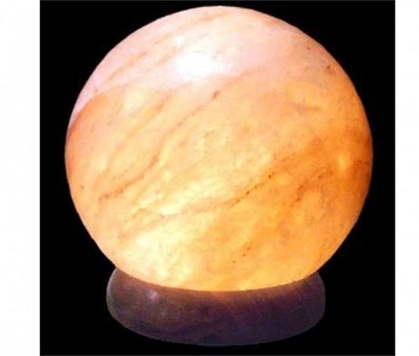 Lámpara de sal Himalayas esfera