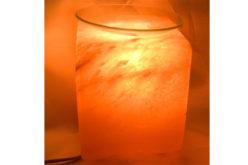 Lámpara de sal quemador