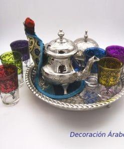 JUEGO DE TÉ, arabe