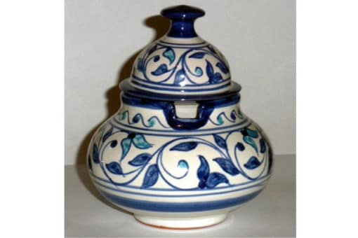 azucarero cerámica árabe andaluza