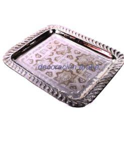 bandeja árabe para el té