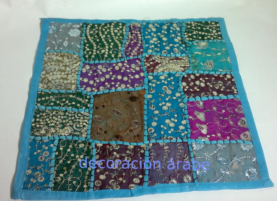 Coj n indio patchwork varios colores - Cojines indios ...