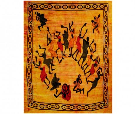 Colcha africana danza