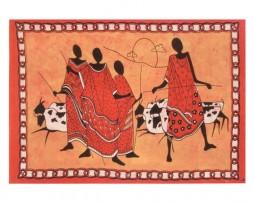 Colcha africana masai