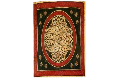 Colcha india flor mandala