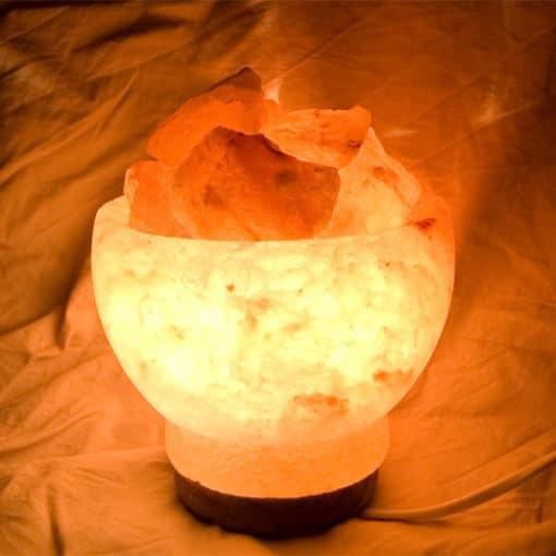 Copa de sal del Himalaya