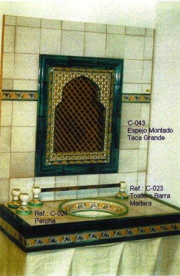 Baños Estilo Andaluz:Cuartos de Baño de Cerámica Andalusí