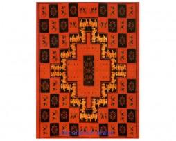 Cubre cama o colcha india: fractal