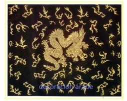 Cubrecama dragón chino