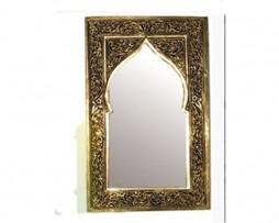 Espejo dorado marroquí