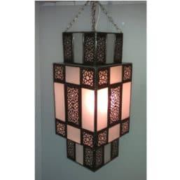 Lámpara marroquí diseño Art Decó