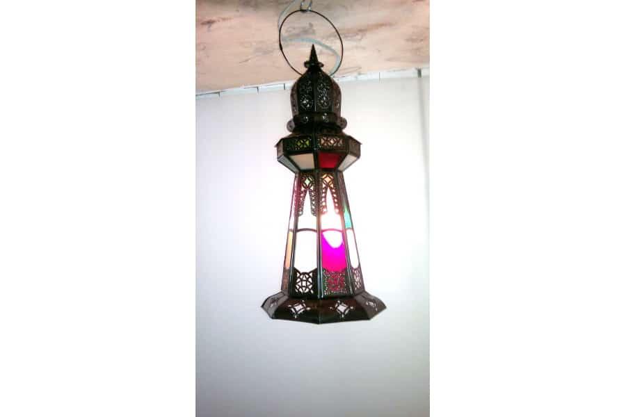 Lámpara árabe de mesa o del colgar