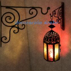 Colgante para lampara forja marroquí