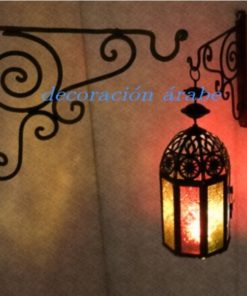 colgante forja para lámparas