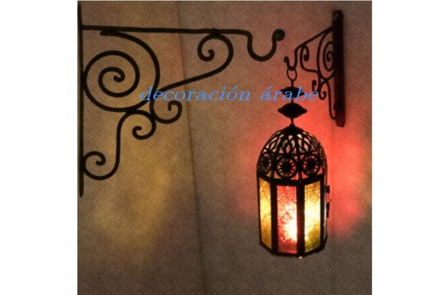 Colgante para faroles l mparas marroqu s decoraci n y for Plato de decoracion marroqui salon 2014