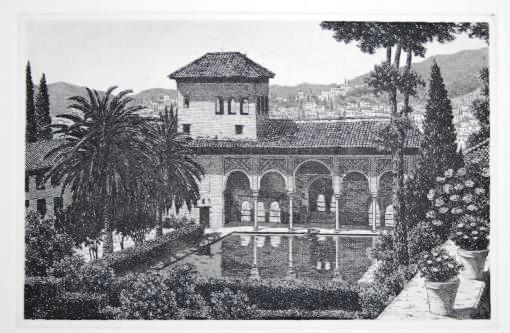 Jardines del partal generalife alhambra decoraci n y for Decoracion jardin granada