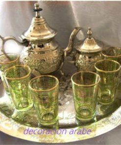 juego de té árabe