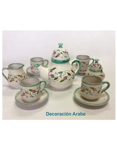 juego de té andalusí andaluza