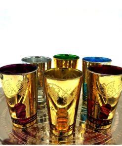 vasos té marroquíes