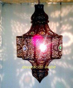 gran lámpara árabe tradicional