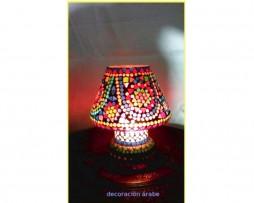 Lámpara cristal mosaico mesa