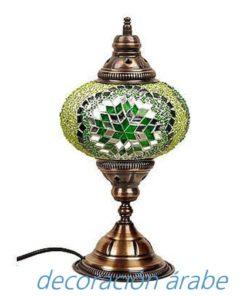 lámpara mesa de Turquía