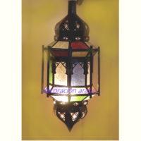 lámpara árabe columnas