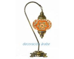 lampara turca Arco naranja