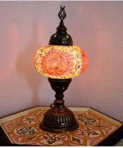 lampara turquia mesa
