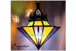 Lámpara marroquí forma de paraguas