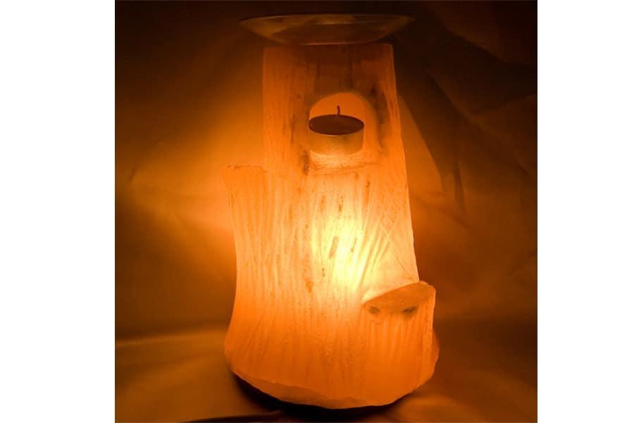 Lámpara de sal, árbol
