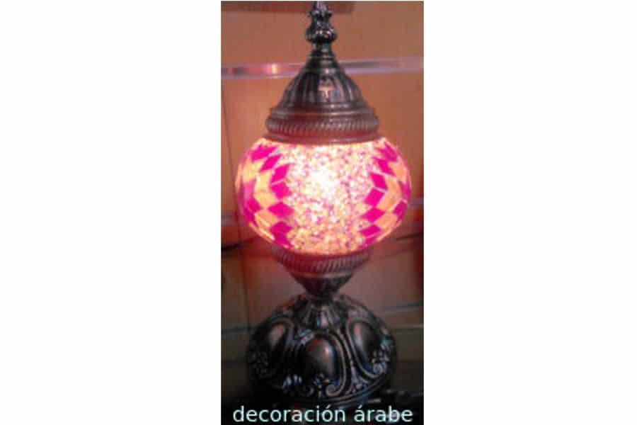 L mpara de mesa de cristal de murano turqu a decoraci n - Lamparas de cristal de murano ...