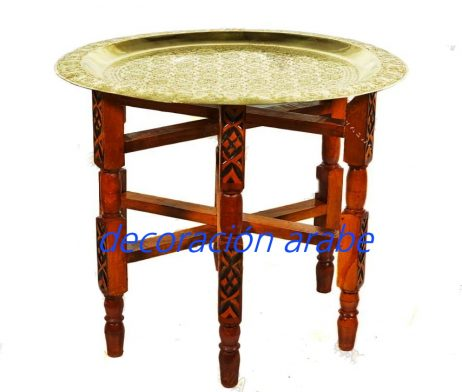 mesa árabe marroquí