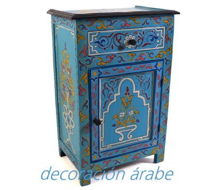 mesa marroquí madera