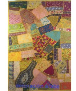 tapiz india pared patchwork