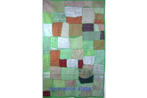 tapiz de pared India verde