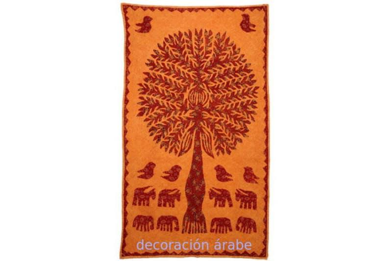 Tela india árbol de la vida