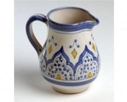 Lechera color azul, cerámica andalusí