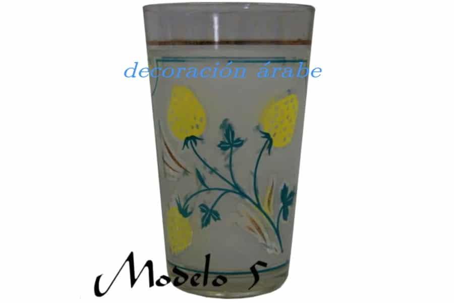Juego de 6 vasos de t marroqu es for Vasos de te