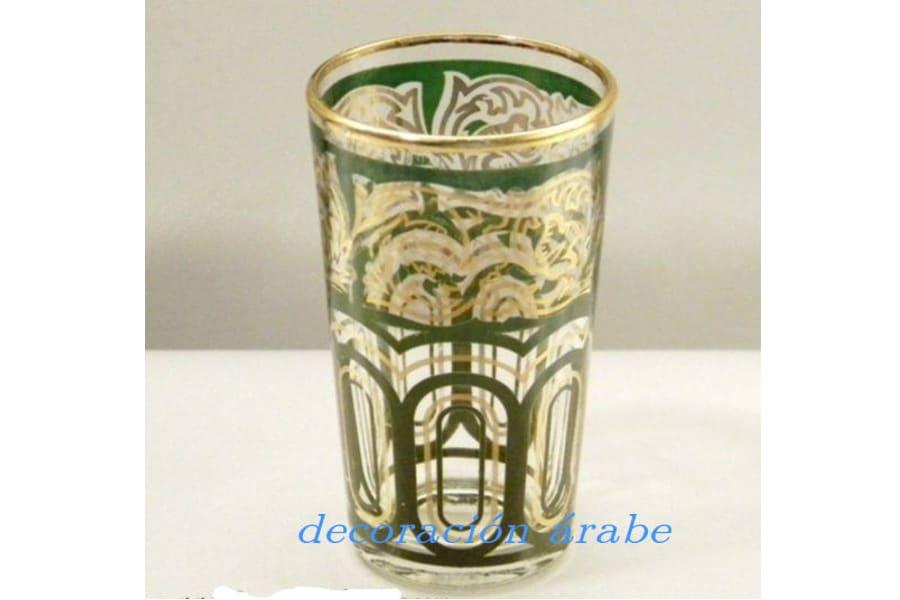 Vasos rabes t verde decoraci n y artesan a rabe for Vasos de te