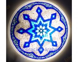 Lamparas turcas de cristal de murano