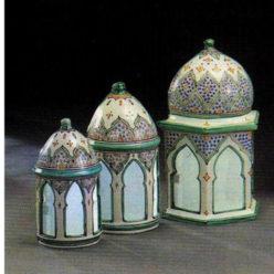 Apliques pared, cerámica árabe andalusí